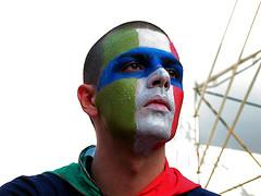 Hincha italiano en la Copa del Mundo 2006